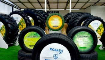 Rosava company took part in the international tyre exhibition AgroExpo 2018