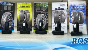 Tyres of ROSAVA and PREMIORRI trade marks occupied 41% of market share in Ukraine
