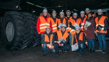 Компанія ОБСІДІАНТ з екскурсією на виробництві великогабаритних та легкових шин