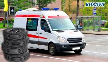 РОСАВА передала автошины для белоцерковских «скорых»