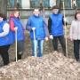 Компания «РОСАВА» - весенняя уборка прилегающей территории и территории предприятия - фото 3