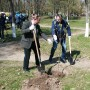 В Белой Церкви компания «РОСАВА» высадила аллеи деревьев в честь своего 45-летнего юбилея - фото 3